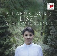 "Kit Armstrong : ""Liszt: Symphonic Scenes"" SONY CLASSICAL - Sorti le 15 novembre 2015"