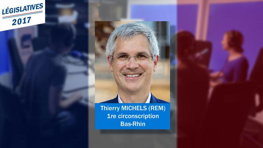 Thierry Michels, élu député du Bas-Rhin le 18 juin 2017 - Photo remise par le candidat