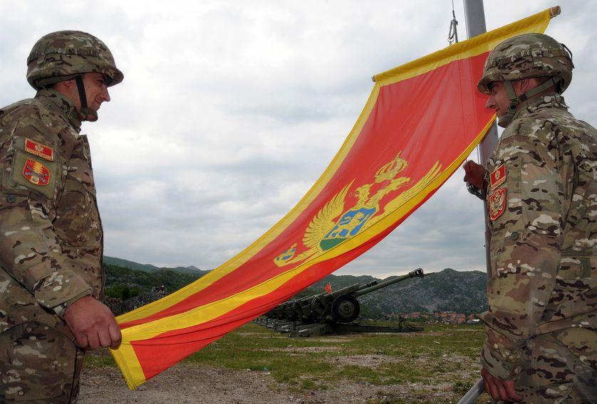 Soldats de l'armée du Monténégro, 2010