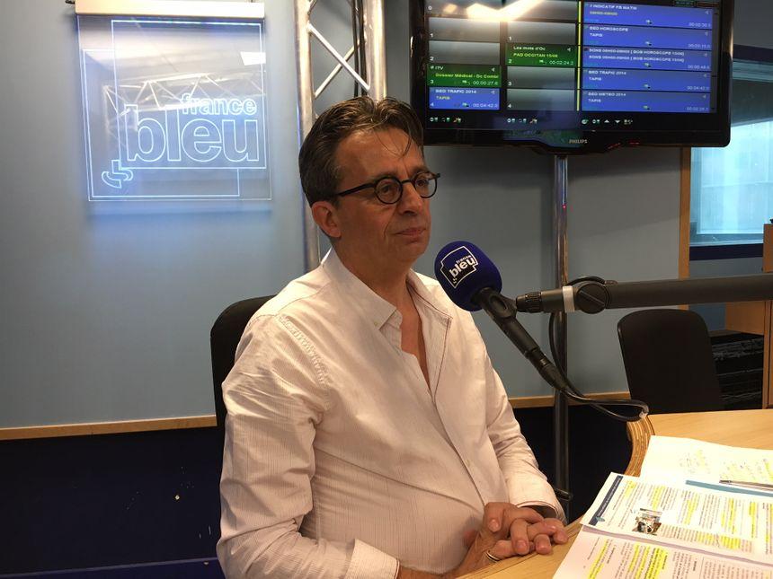 Michel Davila, le directeur de la CPAM 31 invité de France Bleu Toulouse