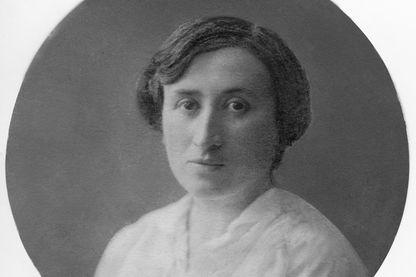 Portrait de Rosa Luxembourg, en 1914.