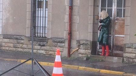 Vanessa Paradis en tournage en Touraine