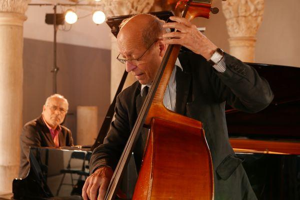Hervé Sellin et Didier Levallet à Cluny