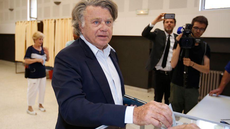 Gilbert Collard, seul député FN du Gard