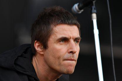 Liam Gallagher en concert à Zeppelinfeld le 4 juin 2017 à Nuremberg, en Allemagne.
