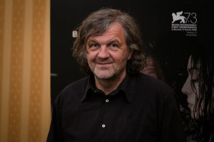 "Emir Kusturica présente ""On the milky road"" à Rome - 8 mai 2017"