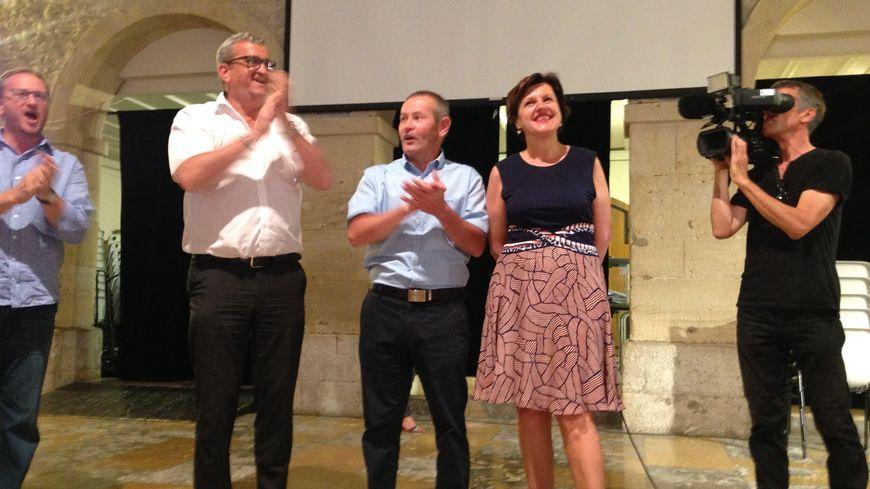 Annie Genevard est réélue sur la 5e circonscription du Doubs avec 59,78% des voix.