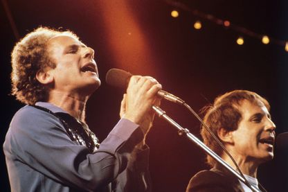 Simon & Garfunkel, Madrid, 1982.