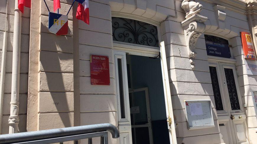 Personne à ce moment-là au collège Jean Macé à Perpignan pour aller voter