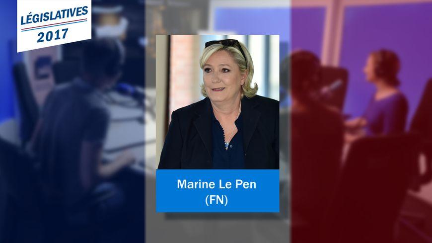 Marine Le Pen va faire son entrée à l'Assemblée nationale pour le Front national.