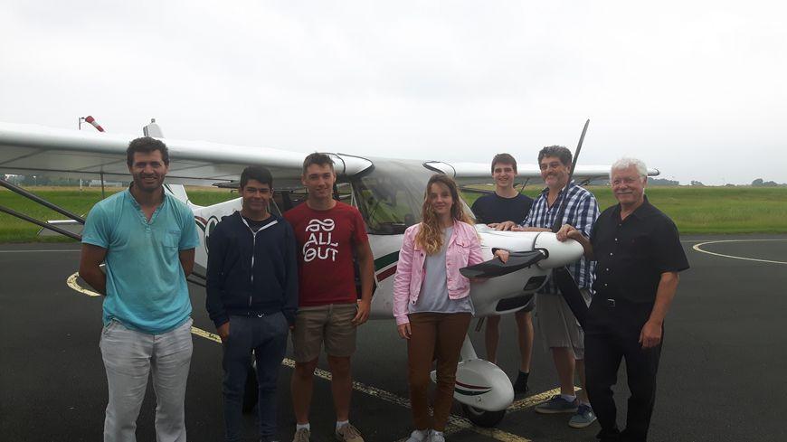 Un baptême de l'air dans leur propre avion pour les élèves de St Joseph