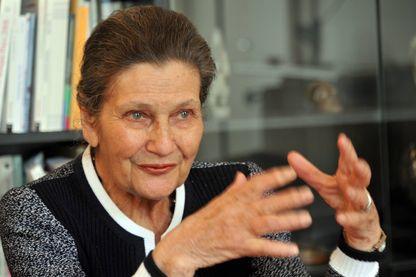 Simone Veil, le 19 mai 2009.