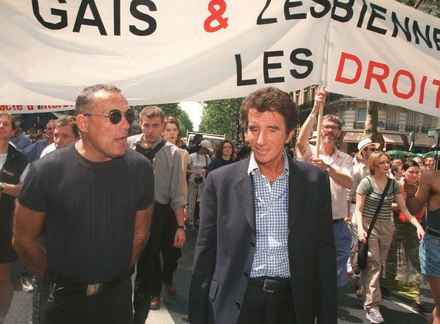 Jack Lang défile chaque année à la marche des fiertés parisienne