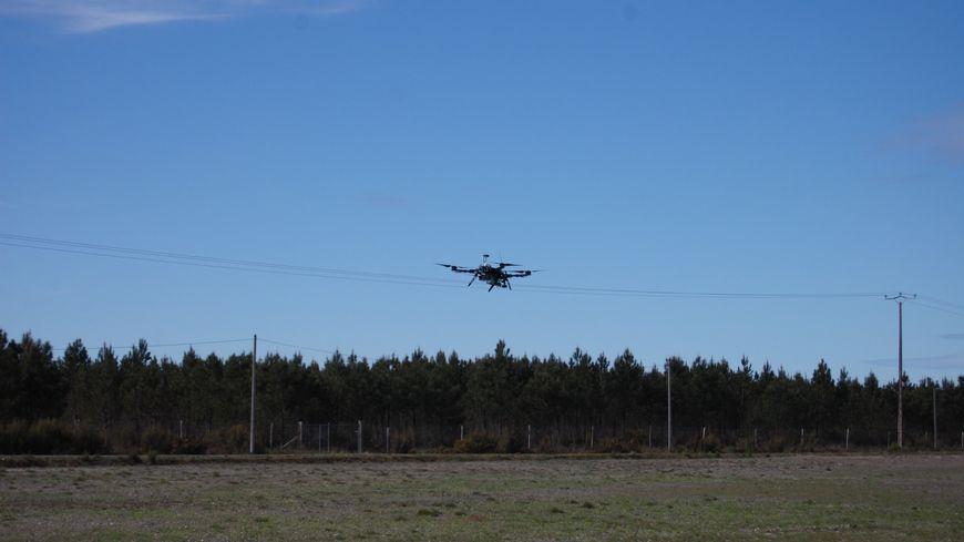 Drone de surveillance project system