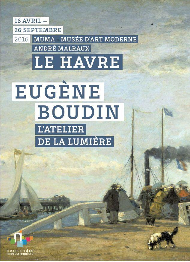 Exposition MuMa - Eugène Boudin : L'Atelier de la lumière