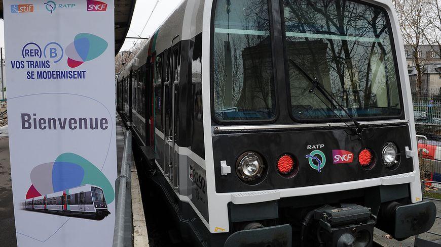 Une nouvelle rame RER mise en circulation en 2010