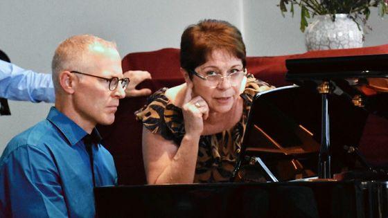 Rena Shereshevskaya donne une masterclass avec Dale Backus dans le cadre du festival de piano Les Amateurs virtuoses