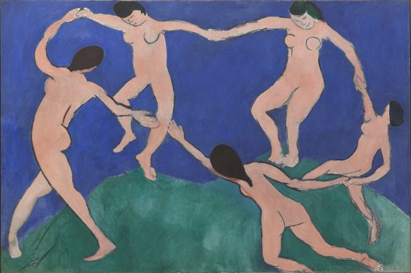 Henri Matisse (1869-1954) La Danse (1ère version) Mars 1909, Museum of Modern Art (MoMA) Huile sur toile 259.7 x 390.1 cm Gift of Nelson A. Rockefeller in honor of Alfred H. Barr, Jr. 201.1963