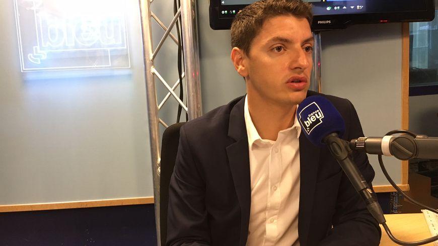 Mickael Nogal (LREM), le benjamin des députés Haut-Garonnais.