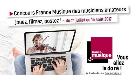 Participez au premier Concours France Musique des Musiciens Amateurs !