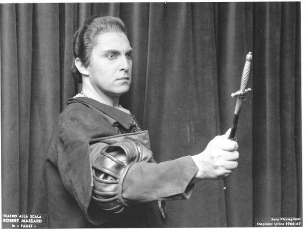 Robert in Valentin Faust Scala di Milano 1967