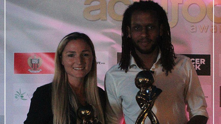 Alexandra Moziyan et David Artheron désignés meilleurs joueurs de la Côte d'Azur.