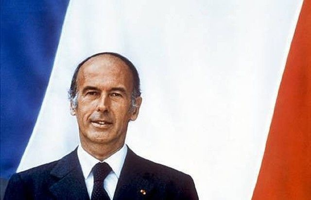 Portrait officiel de Valéry Giscard d'Estaing.
