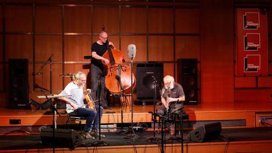 Le trio Clinamen au studio 106 par Dimitri Scapolan