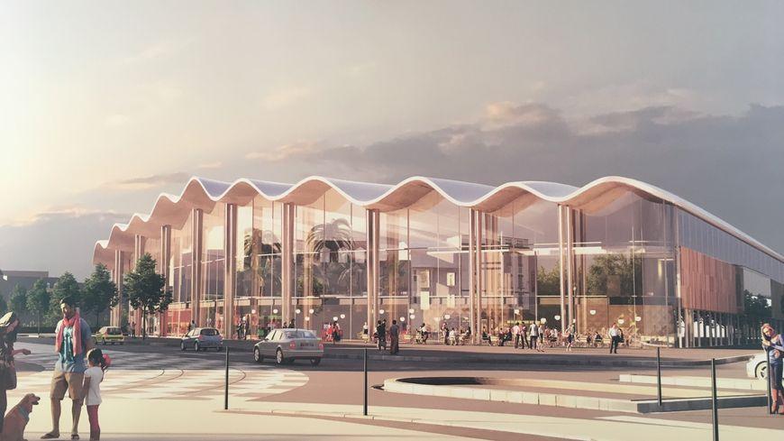 Le futur complexe Aqualudique de Reims