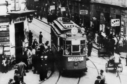 Dans le ghetto juif de Varsovie dans les années 1940