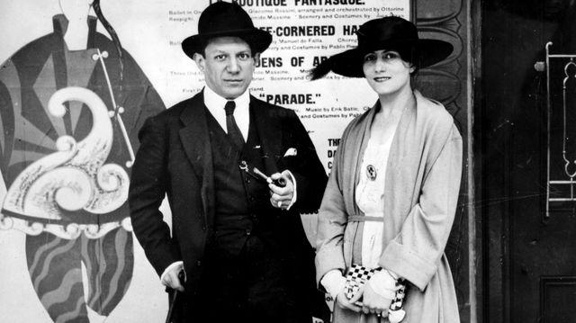 Pablo et Olga Picasso - 1919