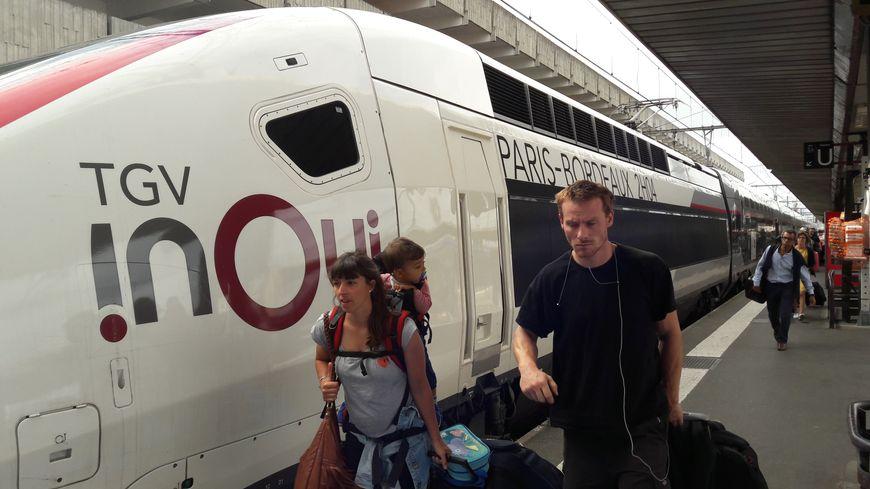 Les passagers sont arrivés à Toulouse Matabiau à peu après 17h30