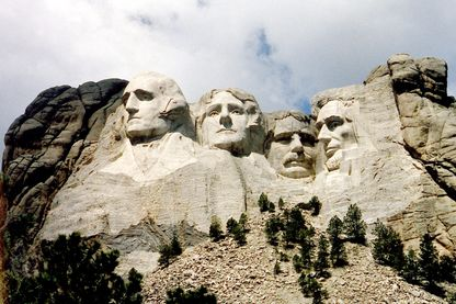 Le Mont Rushmore se situe dans l'Etat du Dakota du Sud