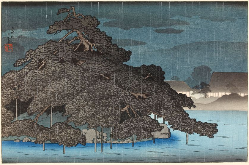 Pluie du soir sur Matsushima, Kawase Hasui, 1920