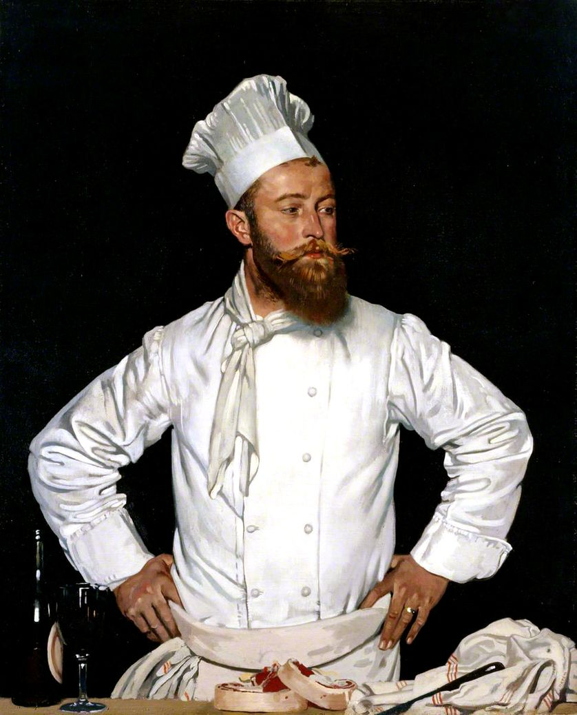 Le Chef de l'Hôtel Chatham, Paris [Eugène « Chester » Grossriether]