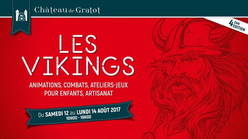Les Vikings au château de Gratot près de Coutances (50) avec France Bleu Cotentin