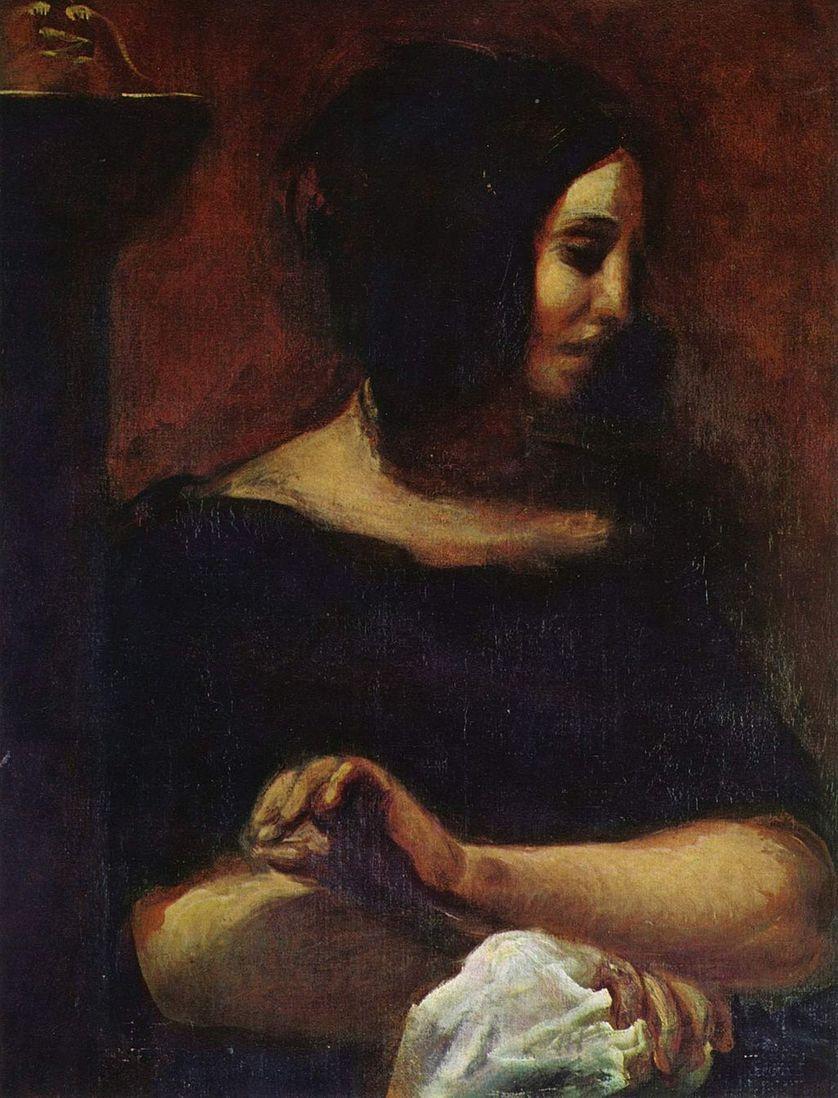 George Sand, ca 1837.