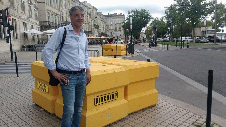 Abdel Feghoul a inventé le Blocstop après l'attentat de Nice.