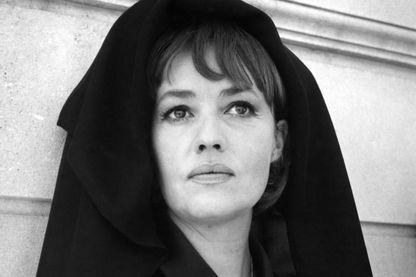 """Jeanne Moreau dans """"La Mariée était en noir"""" de François Truffaut"""