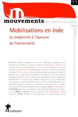 Mobilisations en Inde : la modernité à l'épreuve de l'universalité