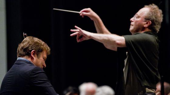 Renaud Capuçon (violon) et Emmanuel Krivine (direction) au festival Radio France Occitanie Montpellier