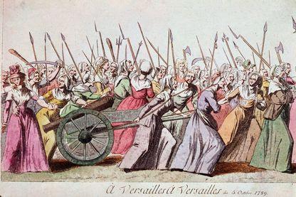 La marche des femmes sur Versailles - 5 octobre 1789 / Paris musée Carnavalet