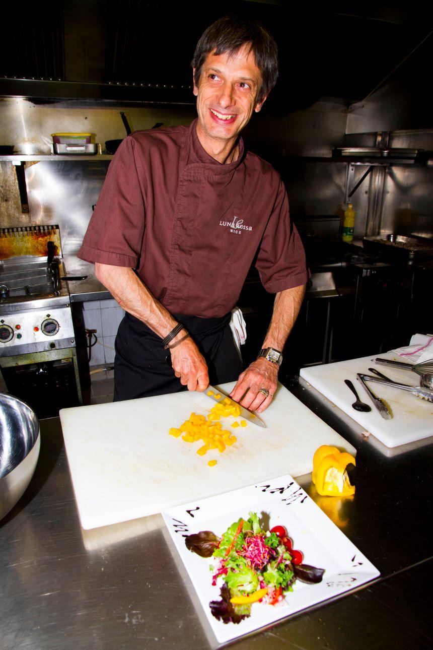 Gilles Ballestra, Chef du Luna Rossa, vous offre une cuisine fraîcheur et saveurs