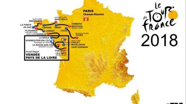 Tours Ville Etape Du Tour De France 2018 Indiscretion Ou Blague D Internaute