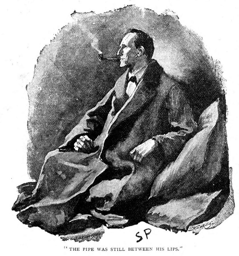 Sherlock Holmes, magazine Strand, 1891.