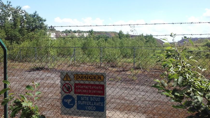Les abords du crassier d'ArcelorMittal Florange
