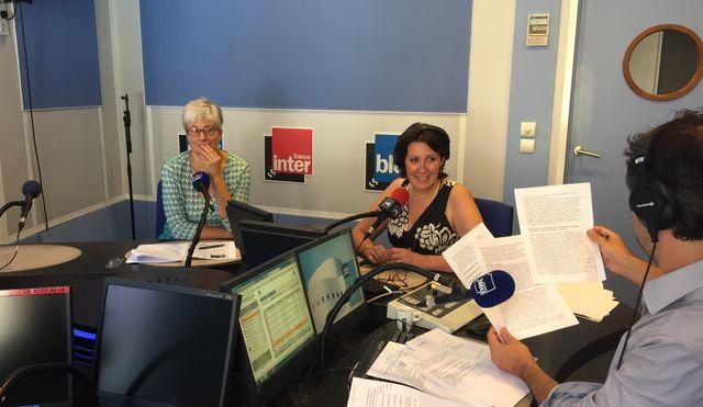 Marion Duvigneau, directrice du patrimoine historique à Nice, et Laure Debeaulieu, rédactrice en chef de France Bleu Azur.
