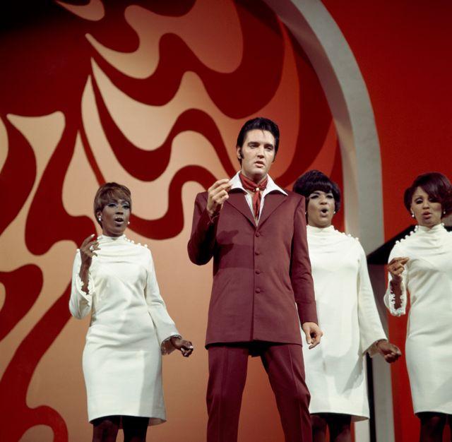 Elvis Presley lors de l'émission '68 Comeback special sur NBC