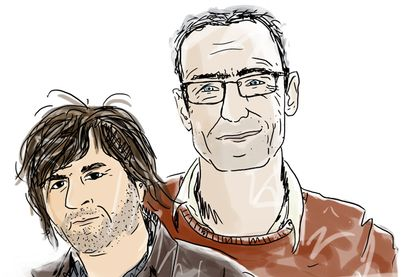 Hervé et Nicolas