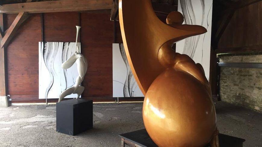 Les sculptures de Jean-Marc Tournois.